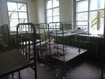 A former dorm room