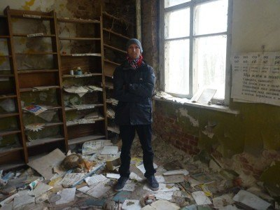 Backpacking in an abandoned kindergarten in Kopachi, CEZ