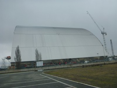 "The ""cover up"" project - like a huge hangar"
