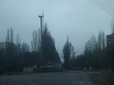Arrival at the Gates to Pripyat