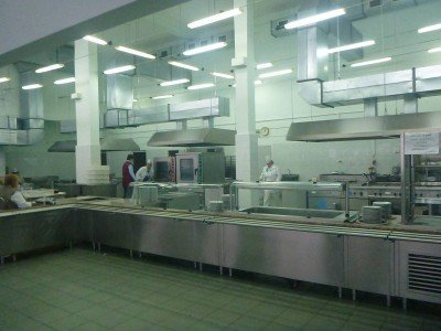 The canteen restaurant in Chernobyl, Ukraine