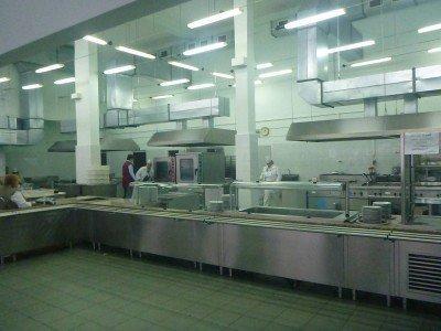 The canteen restaurant in Chernobyl, Ukraine