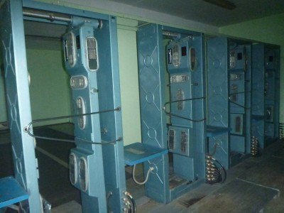 Radiation scanners in Chernobyl