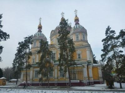 Zenkov's Cathedral, Almaty, Kazakhstan