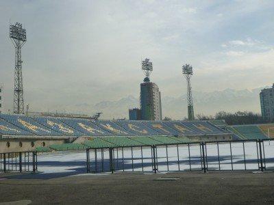 Central Stadium, home of FC Kairat