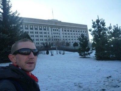 City Hall in Almaty, Kazakhstan
