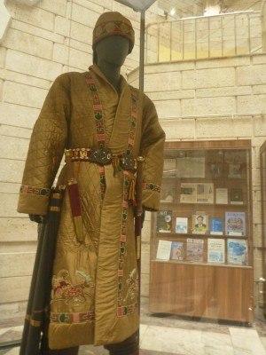 Scythian era Golden Man Suit - highlight of the museum