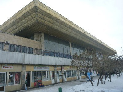 The bus station - Avtovagzal in Bishkek