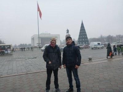 Touring Bishkek, Kyrgyzstan