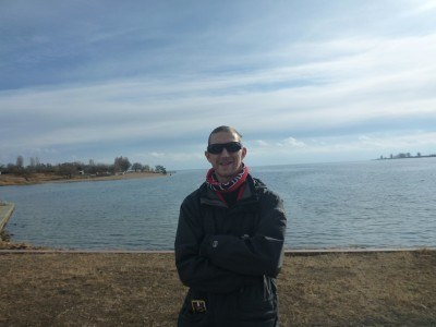 Relaxing by Lake Issyk-kul
