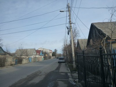 Zhukeev Pudovkin Street, where the Afghanistan Embassy is situated