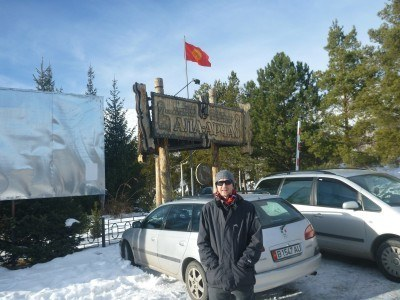 Arrival at Ala Archa National Park in Kyrgyzstan