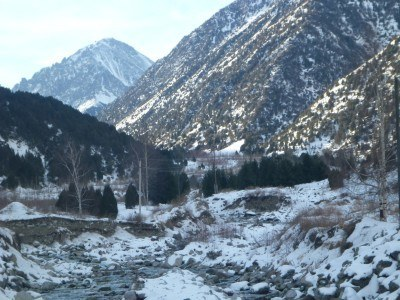 Backpacking in Kyrgyzstan: Hiking in Ala Archa National Park Part 1 - The Alpine Cemetery Trail