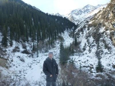 The beautiful hike here in Ala Archa