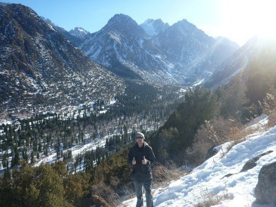 Loving the freedom of Ala Archa National Park in Kyrgyzstan