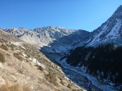 Backpacking in Kyrgyzstan: Hiking in Ala Archa National Park Part 2 - The Gorge and Waterfall Trail