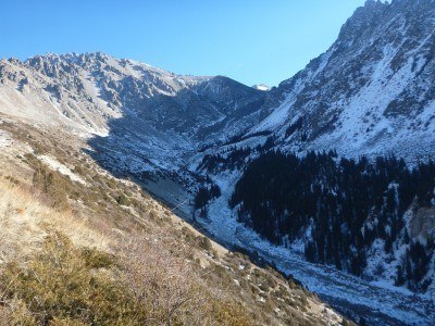 The mountains of this region are less accessible in winter
