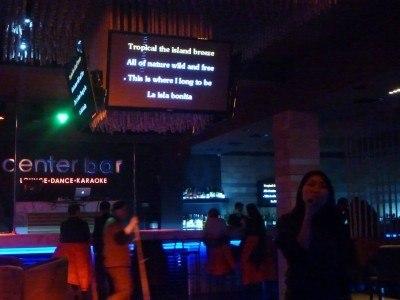 Aigul sings La Isla Bonita in Bishkek, Kyrgyzstan