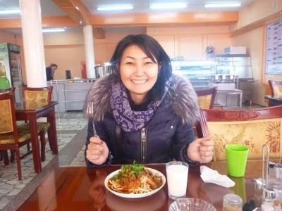 Aigul in Daamduu Restaurant