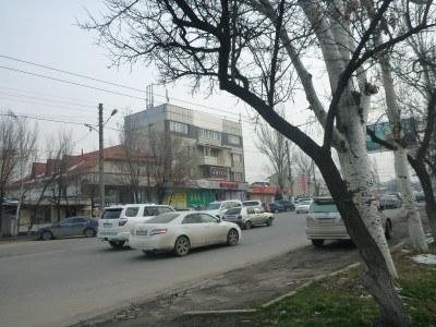 On the way to the Tajikistan Embassy