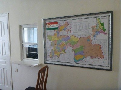 Inside the Tajikistan Embassy