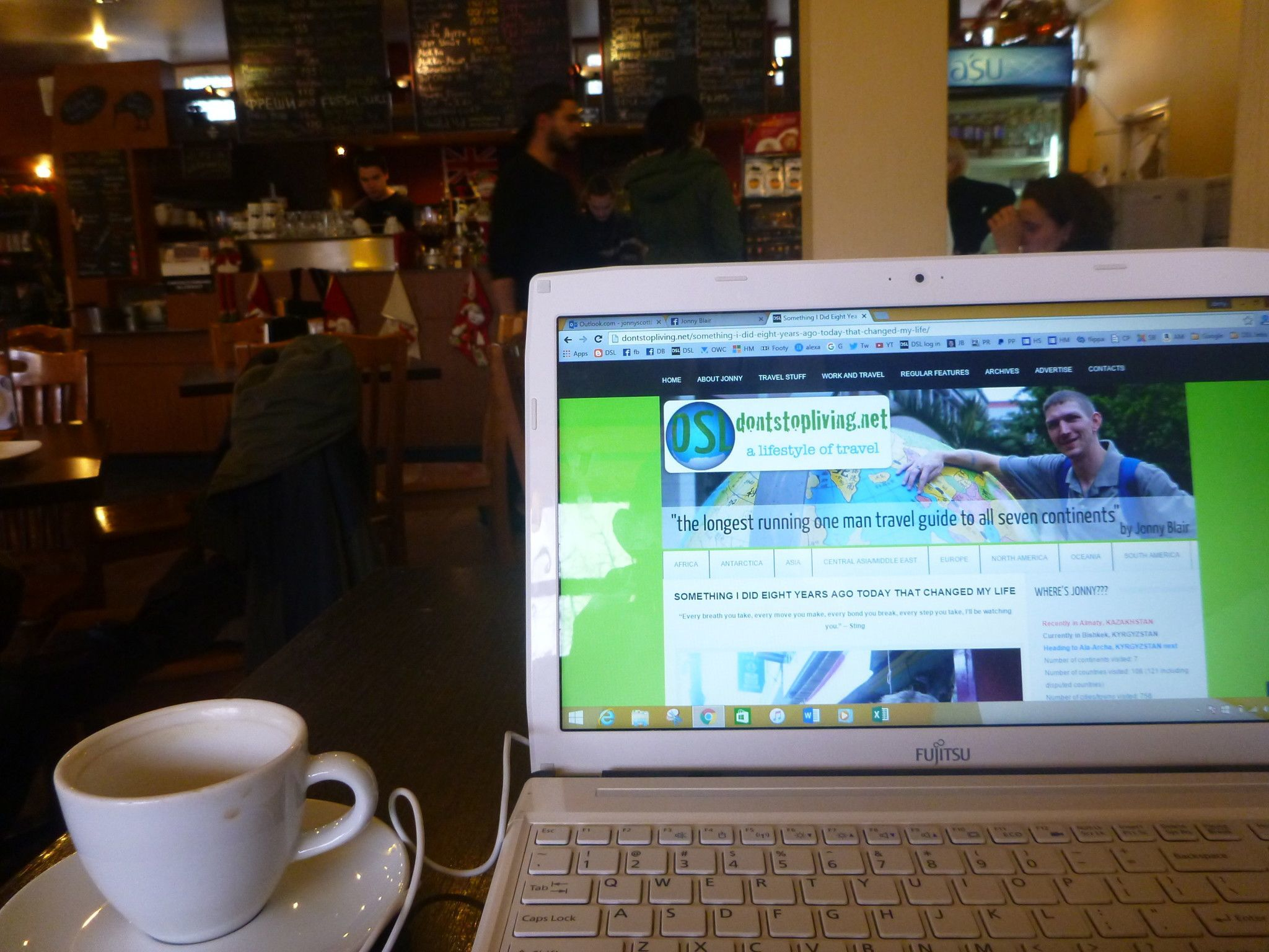 Thirsty Thursdays: Top Five WiFi Cafes For Digital Nomads in Bishkek, Kyrgyzstan