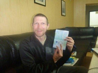Happiness - Uzbekistan Visa secured in Bishkek, Kyrgyzstan!