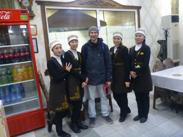My last night in Bishkek, Kyrgyzstan