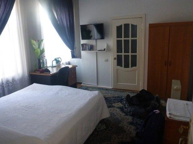 My room in Dushanbe, Tajikistan