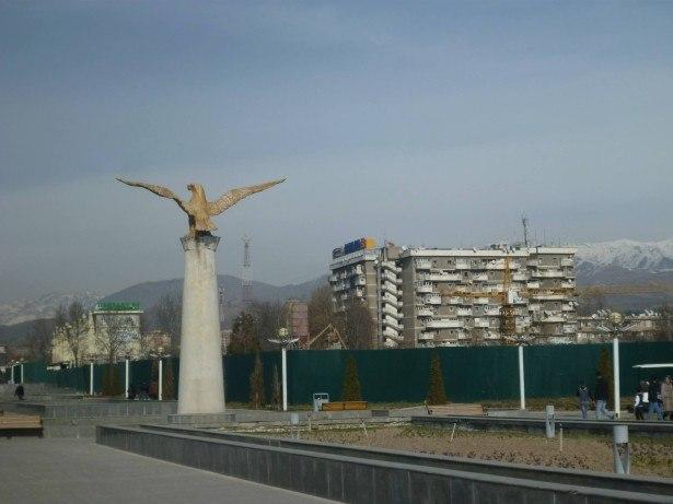 Touring Dushanbe, Tajikistan