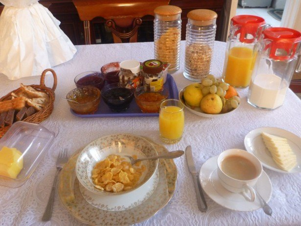Breakfast at Marian's Guesthouse