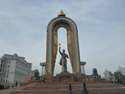 Isma'il Somoni - a hero in Tajikistan