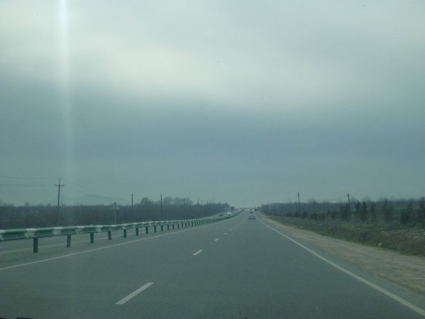 The drive to Hisor