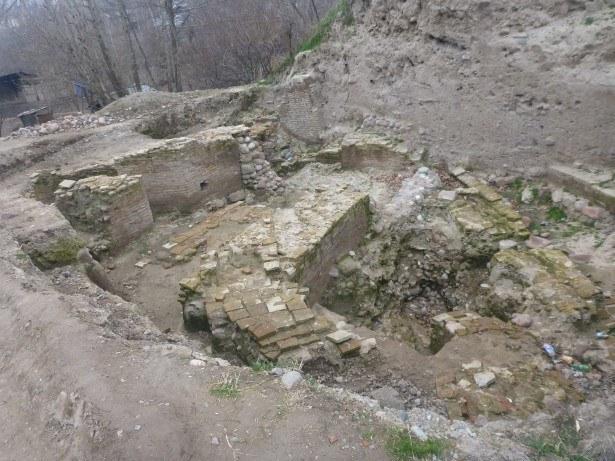 Archaelogical ruins at Hisor