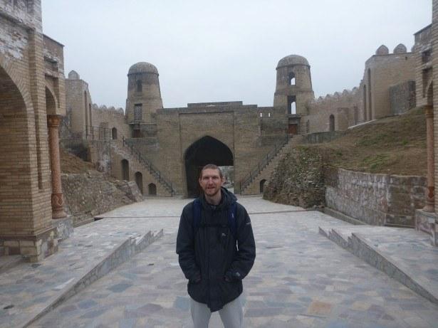 Touring Hisor Fort