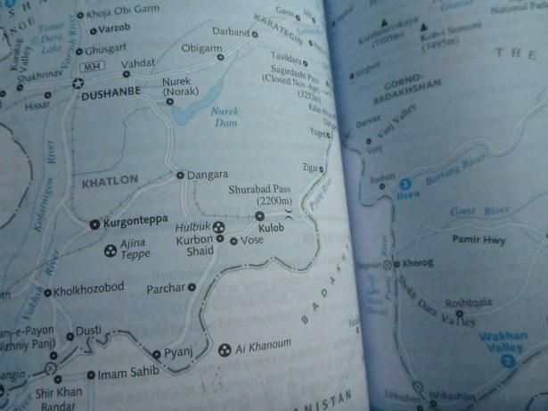 The route from Tajikistan through Gorno Badakhshan to Khorog is far from easy.