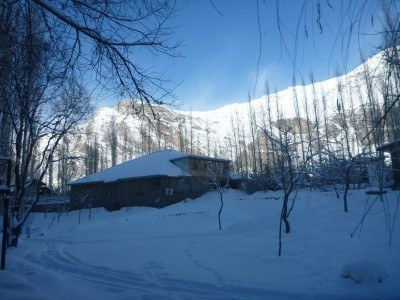 A gorgeous winter in Pamir Lodge, Khorog