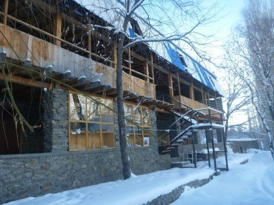 Pamir Lodge in Winter