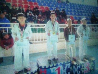 Local Taekwando champion Sinon!
