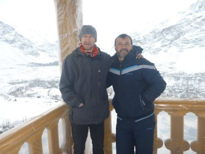 Wonderful times in the Pamirs with Said from Pamir Lodge