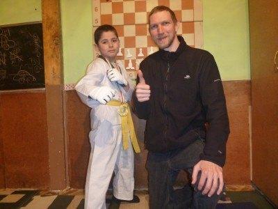 Sinon and I at Pamir Lodge