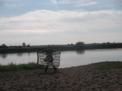 By the Belshina River in Bobruisk, Belarus