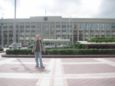 Backpacking in Belarus, 2007