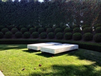 The final resting place of the 31st US president, Herbert Hoover.