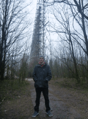 radar system backpacking chernobyl
