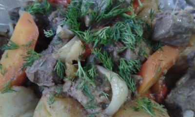 Friday's Featured Food: Wild Boar Roast at Orbita Boutique Hotel in Shymkent, Kazakhstan