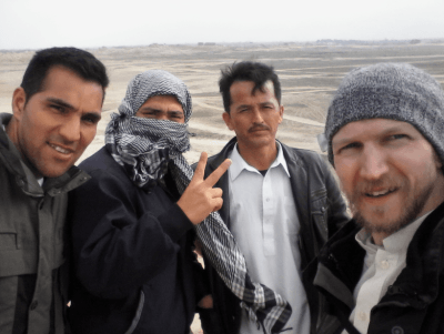 Backpacking in Afghanistan - touring Bactria with the lads