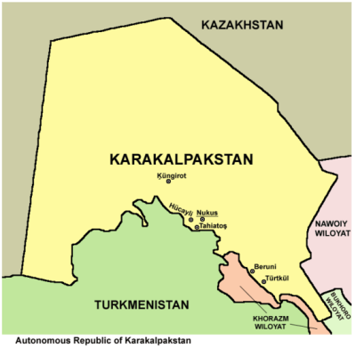 Backpacking in Karakalpakstan