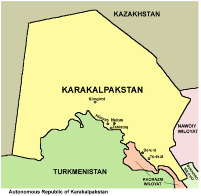 Backpacking in Karakalpakstan
