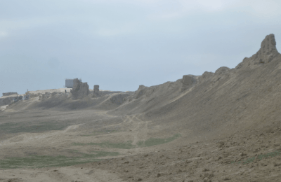 City walls of Balkh Afghanistan